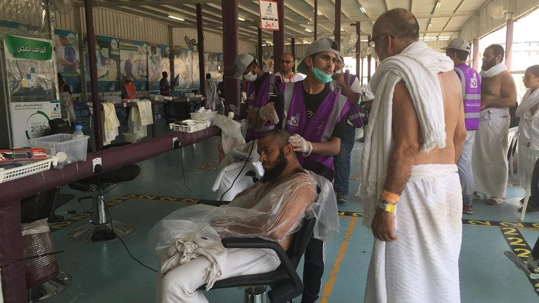 Barbers of Mecca and why Hajj pilgrims shave their heads