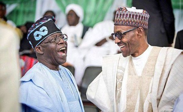 What piece of information did Tinubu gift President Buhari in Cote d'Ivoire?