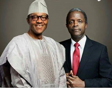 •Buhari and Osinbajo