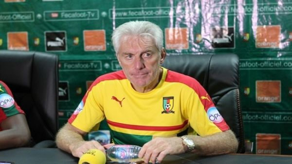 •Fired Cameroon coach Hugo Broos