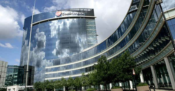 •The GlaxoSmithKline offices in London