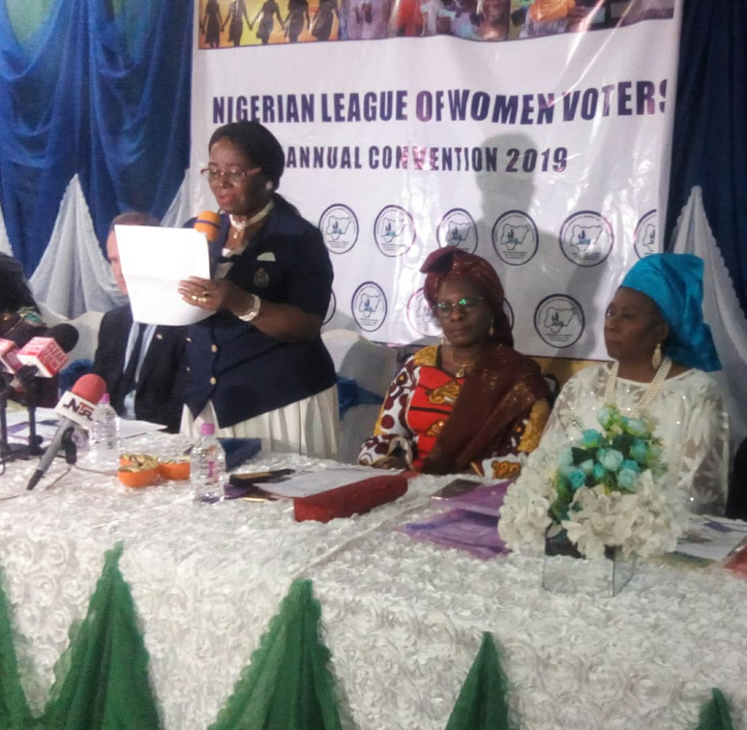 League of Women Voters demands 35 per cent of all elective positions for women