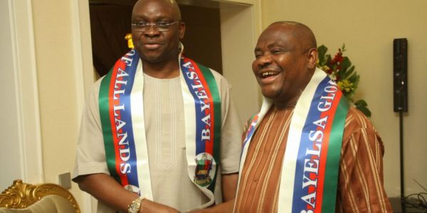 •Governor Wike and Fayose