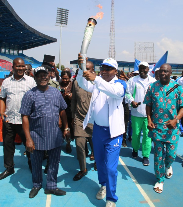 Sports Festival: We are going to Abuja to win — Okowa