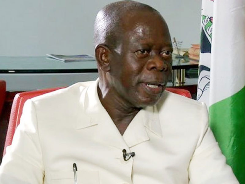 Oshiomhole slams IBB, Obasanjo, others for opposing Buhari's reelection bid