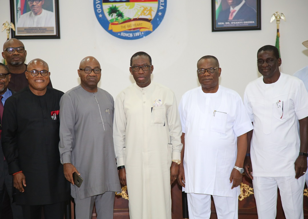 Okowa receives Transition Committee Report, pledges to work harder to the benefits of Deltans