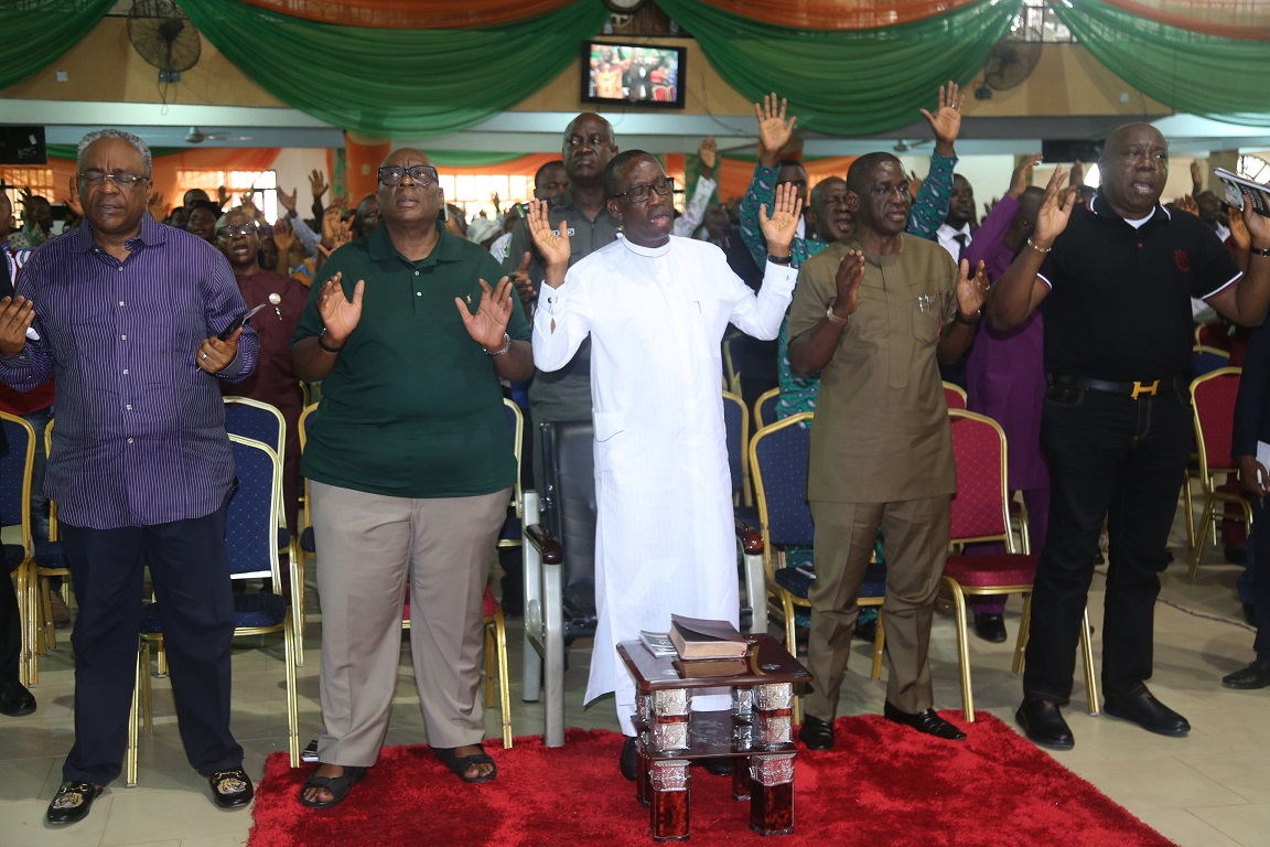 Okowa to religious leaders: Lead exemplary lives