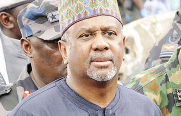 •former National Security Adviser, Colonel Sambo Dasuki (Rtd.)