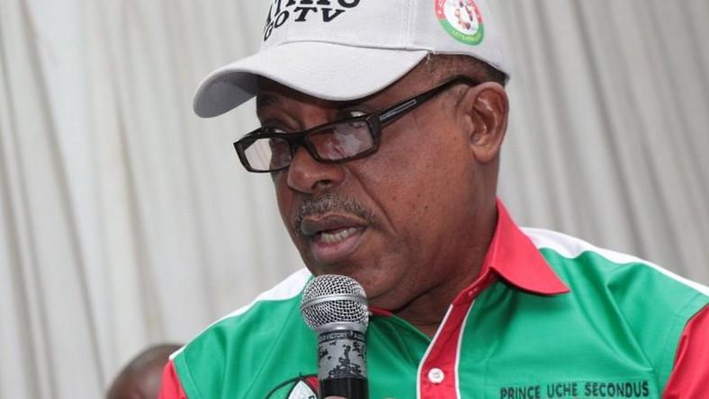 •PDP National Chairman, Prince Uche Secondus