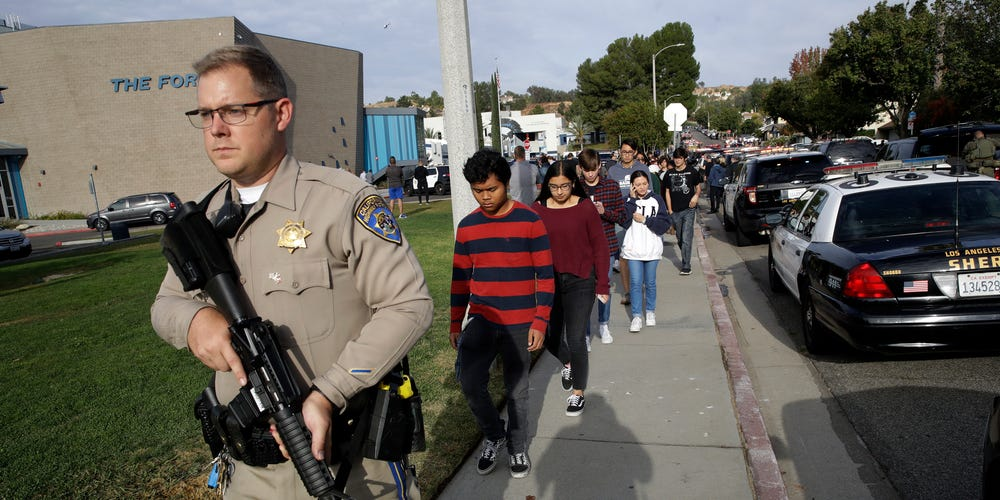 'Multiple victims' confirmed in school shooting near Los Angeles