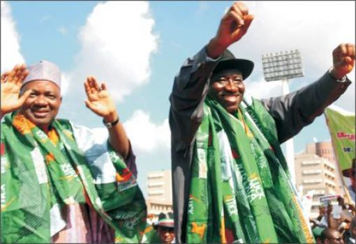 2015: Jonathan ratified as PDP presidential candidate, retains Sambo as running mate