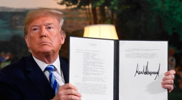 US withdraws from Iran nuclear deal