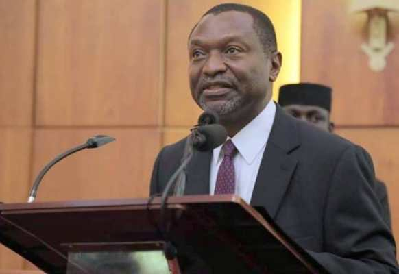 •Minister of Budget and National Planning, Senator Udo Udoma