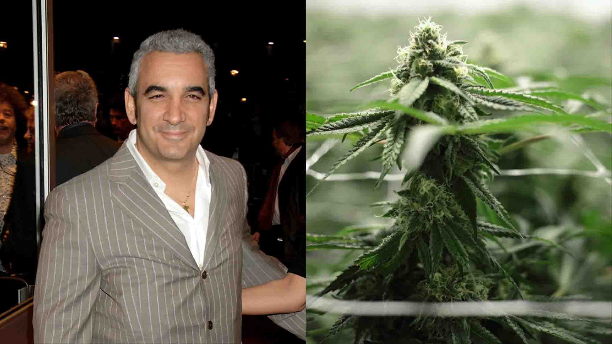 Billionaire arrested for growing weed