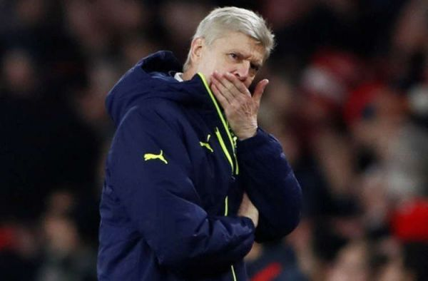 •Embattled Arsenal Manager Arsene Wenger